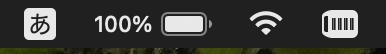 Macbookバッテリーの数値化