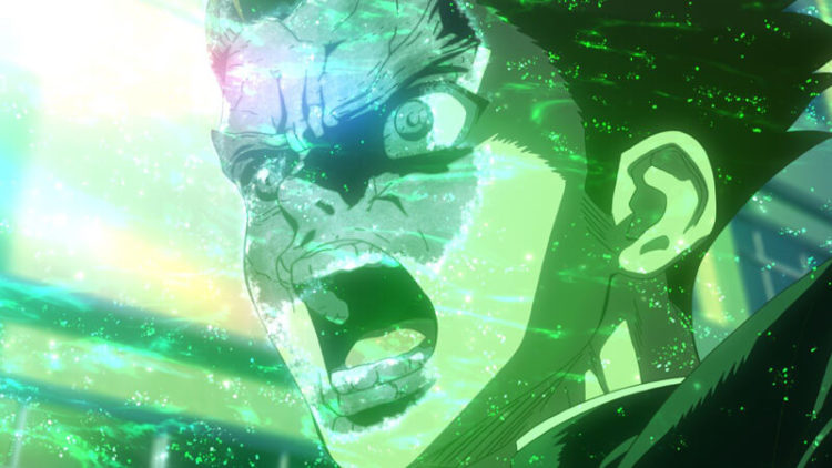 ドクターストーン 緑の光